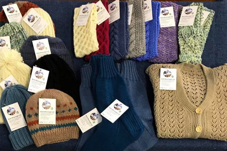 Knitware made on Barra